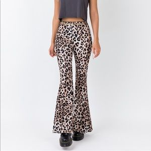 Princess Polly Leopard Print Pants